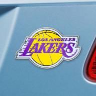 Los Angeles Lakers Color Car Emblem