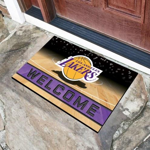 Los Angeles Lakers Crumb Rubber Door Mat