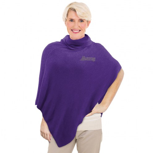 Los Angeles Lakers Crystal Knit Poncho