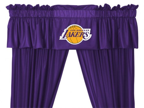 Los Angeles Lakers Curtain Valance