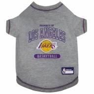 Los Angeles Lakers Dog Tee Shirt
