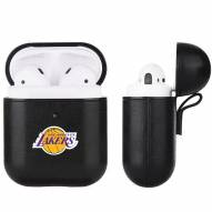 Los Angeles Lakers Fan Brander Apple Air Pods Leather Case