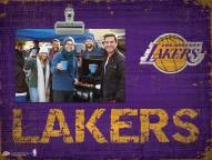 Los Angeles Lakers Wood Clip Frame