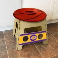 Los Angeles Lakers Folding Step Stool