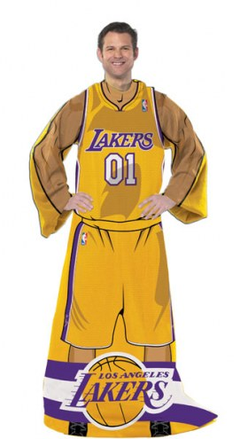 Los Angeles Lakers Full Body Comfy Throw Blanket
