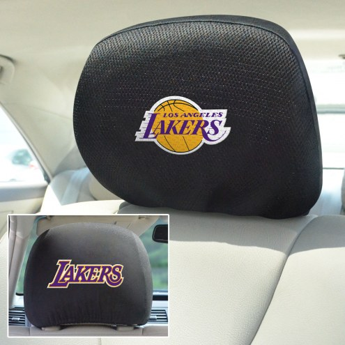 Los Angeles Lakers Headrest Covers