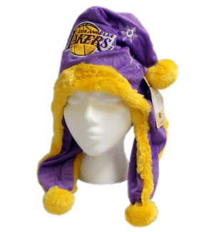 Los Angeles Lakers Holiday Dangle Hat