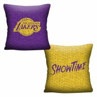 Los Angeles Lakers Invert Woven Pillow