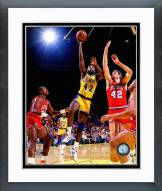 Los Angeles Lakers James Worthy 1986 Action Framed Photo