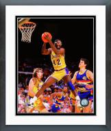 Los Angeles Lakers James Worthy 1987 Action Framed Photo