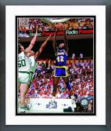 Los Angeles Lakers James Worthy 1987 NBA Finals Action Framed Photo