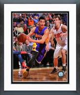 Los Angeles Lakers Jeremy Lin Action Framed Photo