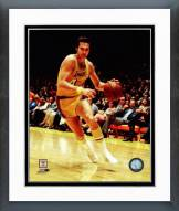 Los Angeles Lakers Jerry West 1971 Action Framed Photo