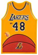 Los Angeles Lakers Jersey Traditions Banner