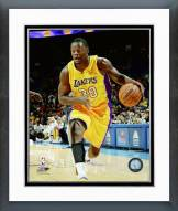 Los Angeles Lakers Julius Randle Action Framed Photo