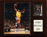 """Los Angeles Lakers Kobe Bryant 12"""" x 15"""" Player Plaque"""