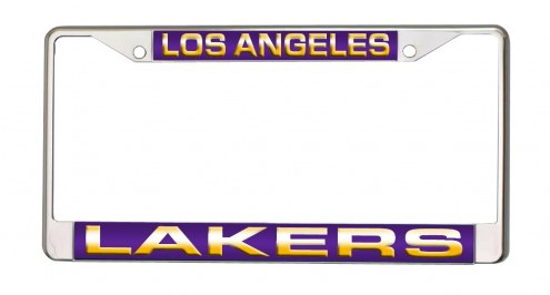 Los Angeles Lakers Laser Cut License Plate Frame