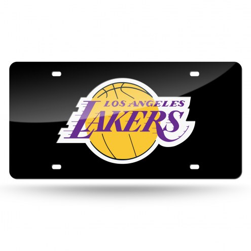Los Angeles Lakers Laser Cut License Plate