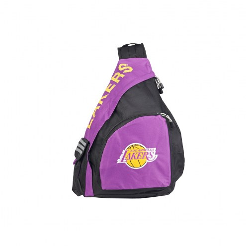 Los Angeles Lakers Leadoff Sling Backpack