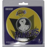 Los Angeles Lakers logo 2 pack Game Used Net Coaster set