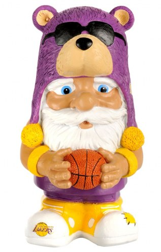 Los Angeles Lakers Mad Hatter Garden Gnome