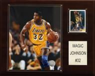"Los Angeles Lakers Magic Johnson 12"" x 15"" Player Plaque"