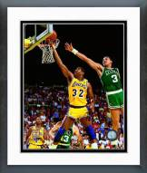 Los Angeles Lakers Magic Johnson 1987 Action Framed Photo