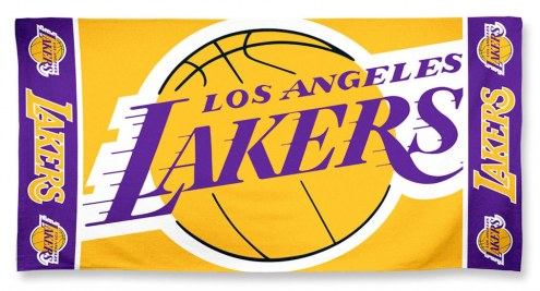 Los Angeles Lakers McArthur Colossal Beach Towel