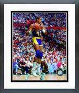 Los Angeles Lakers Mychal Thompson 1988 Action Framed Photo