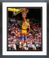 Los Angeles Lakers Mychal Thompson Action Framed Photo