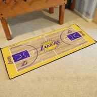 Los Angeles Lakers NBA Court Large Runner