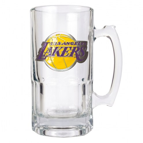 Los Angeles Lakers NBA 1 Liter Glass Macho Mug