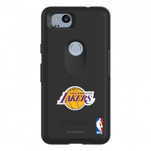 Los Angeles Lakers OtterBox Google Pixel 2 Symmetry Black Case