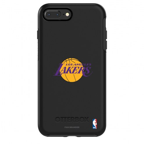 Los Angeles Lakers OtterBox iPhone 8/7 Symmetry Black Case