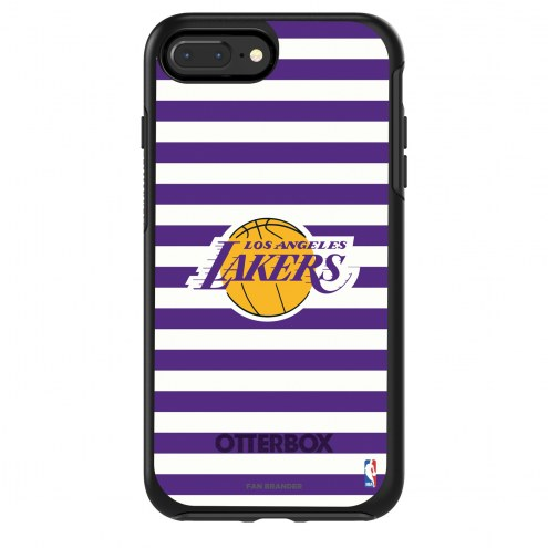 Los Angeles Lakers OtterBox iPhone 8/7 Symmetry Stripes Case
