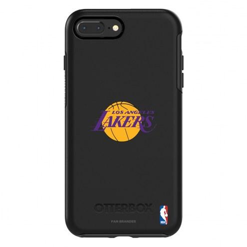 Los Angeles Lakers OtterBox iPhone 8 Plus/7 Plus Symmetry Black Case