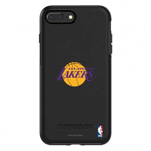 Los Angeles Lakers OtterBox iPhone 8 Plus/7 Plus Symmetry Black Case