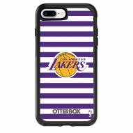 Los Angeles Lakers OtterBox iPhone 8 Plus/7 Plus Symmetry Stripes Case