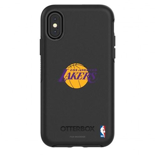 Los Angeles Lakers OtterBox iPhone X/Xs Symmetry Black Case