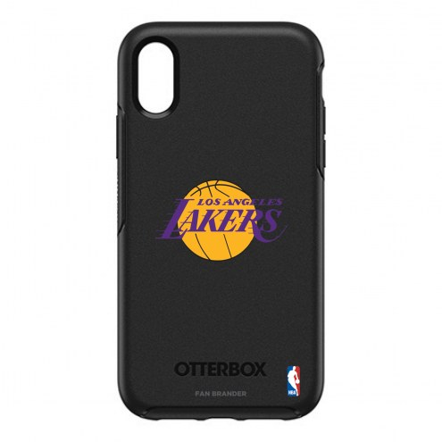 Los Angeles Lakers OtterBox iPhone XR Symmetry Black Case