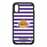 Los Angeles Lakers OtterBox iPhone XR Symmetry Stripes Case