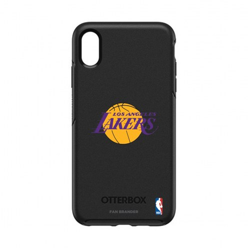 Los Angeles Lakers OtterBox iPhone XS Max Symmetry Black Case