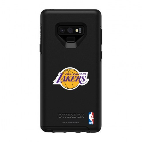 Los Angeles Lakers OtterBox Samsung Galaxy Note9 Symmetry Black Case