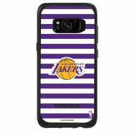 Los Angeles Lakers OtterBox Samsung Galaxy S8 Symmetry Stripes Case