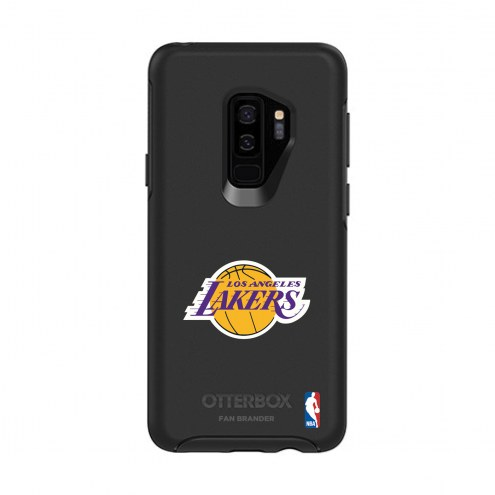 Los Angeles Lakers OtterBox Samsung Galaxy S9+ Symmetry Black Case