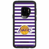 Los Angeles Lakers OtterBox Samsung Galaxy S9 Symmetry Stripes Case