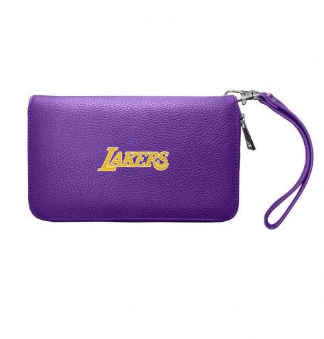 Los Angeles Lakers Pebble Organizer Wallet