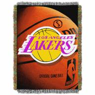 Los Angeles Lakers Photo Real Throw Blanket