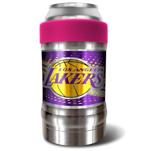 Los Angeles Lakers Pink 12 oz. Locker Vacuum Insulated Can Holder