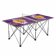 Los Angeles Lakers Pop Up 6' Ping Pong Table